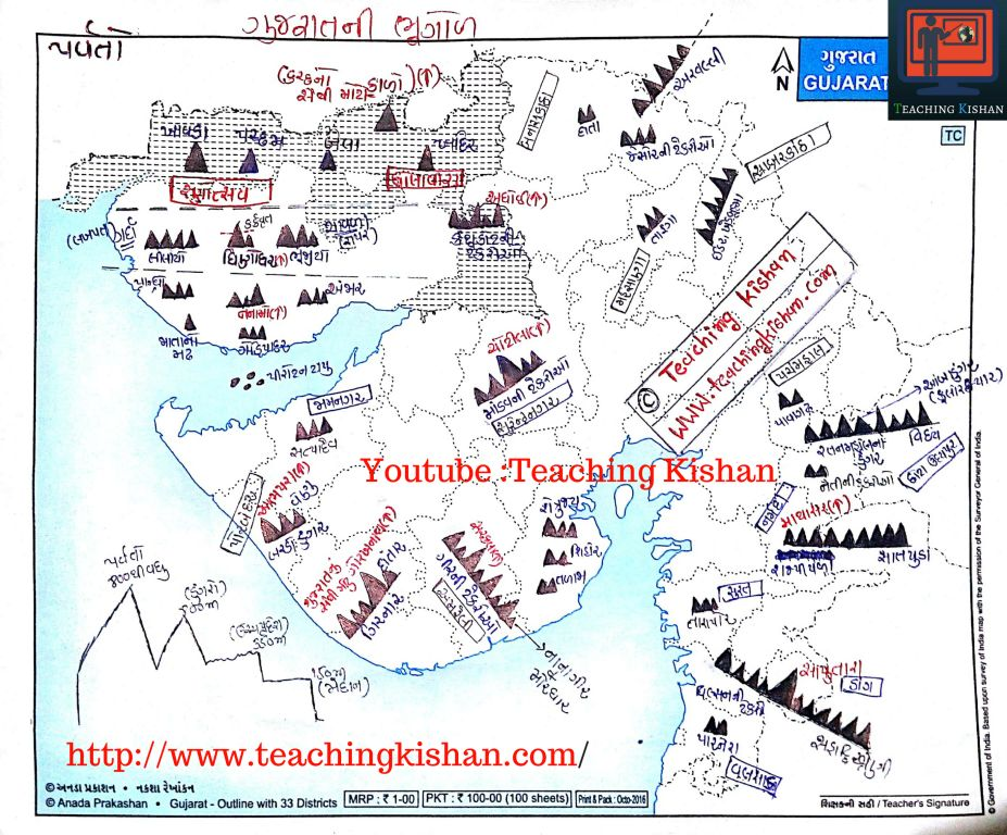 Mountain of Gujarat